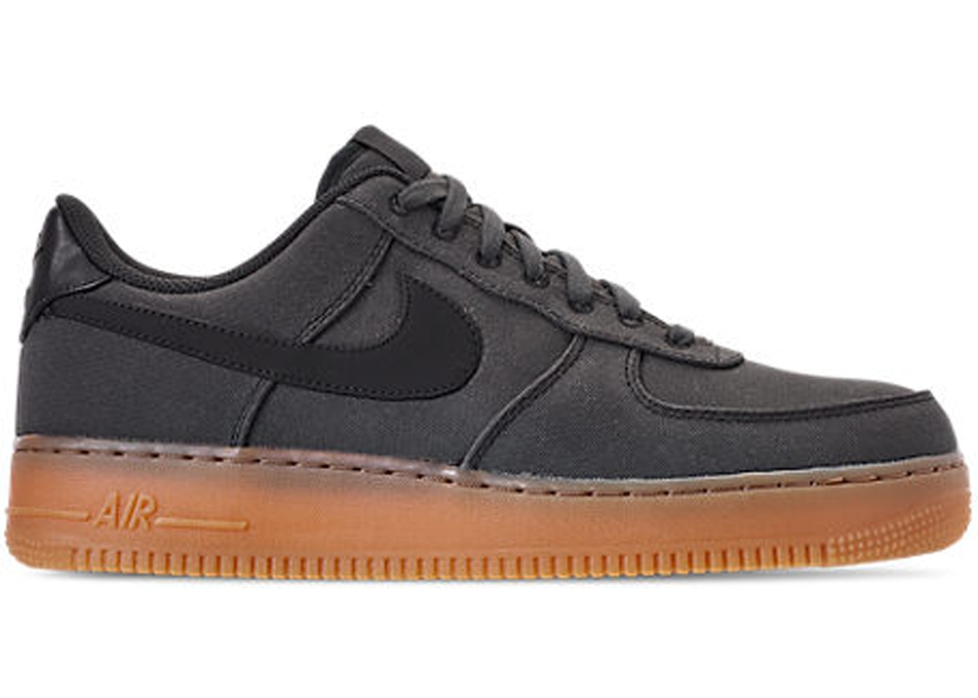 Cambiarse de ropa obesidad Hamburguesa  Nike Air Force 1 Low '07 Black Gum - AQ0117-002