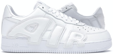 Nike Air Force 1 Low Cactus Plant Flea Market White (2020) by Skims, available on stockx.com for $380 Kylie Jenner Shoes Exact Product
