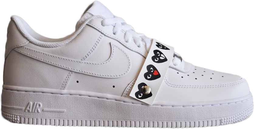 Nike Air Force 1 Low Comme Des Garcons Emoji White -