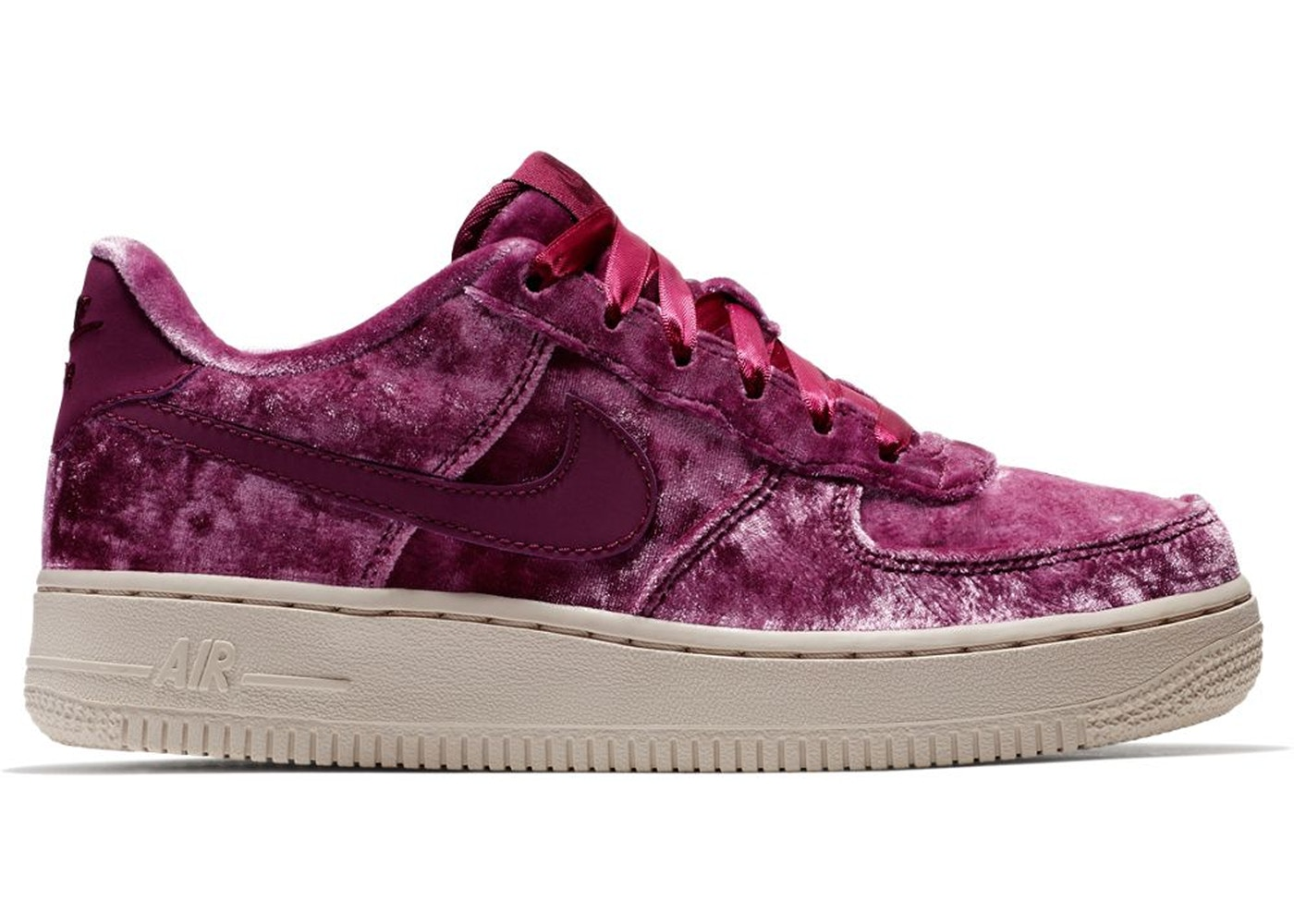 Nike Air Force 1 Low Crushed Velvet (GS) - 849345-601