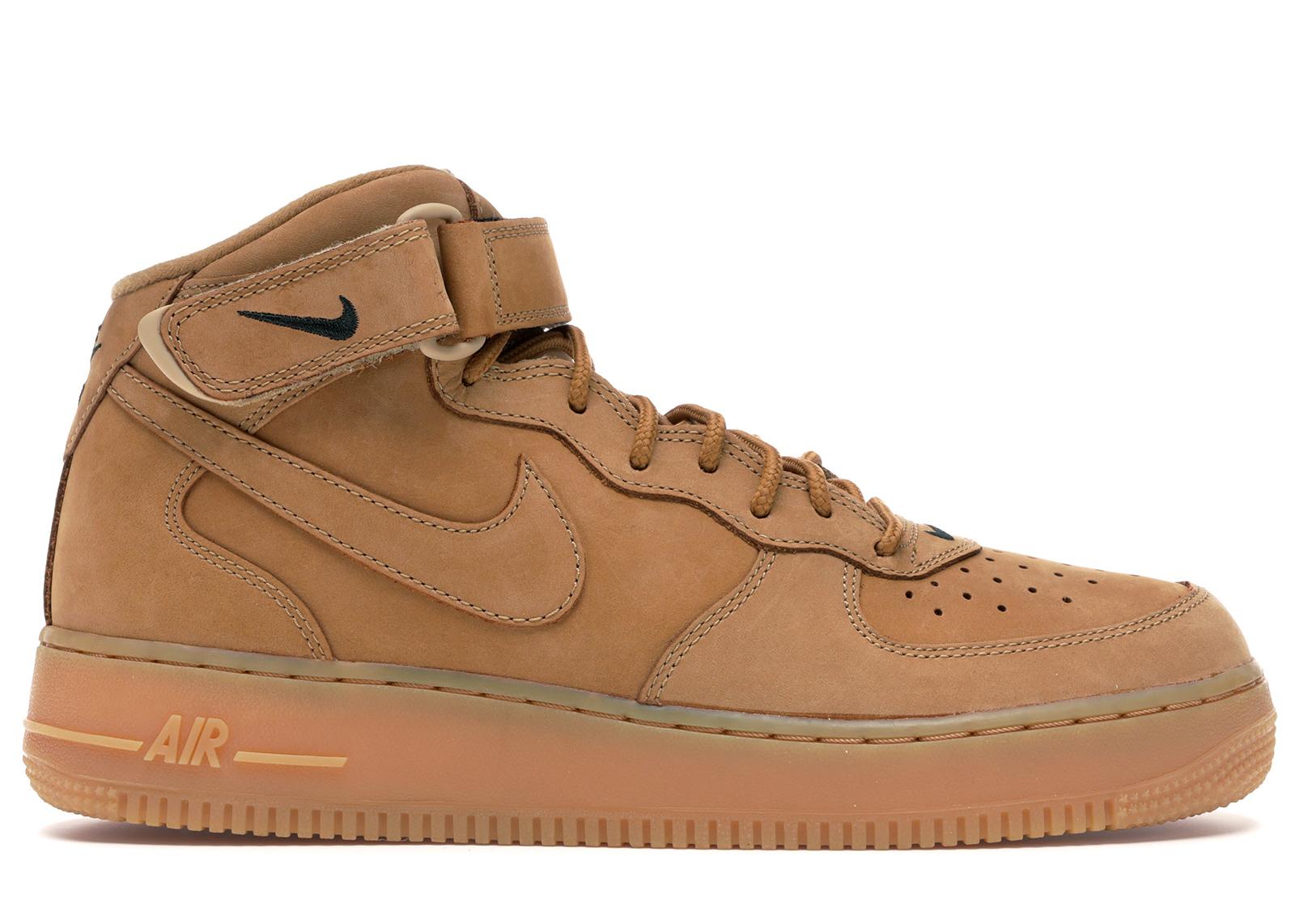 Nike Air Force 1 Mid Flax (2014)