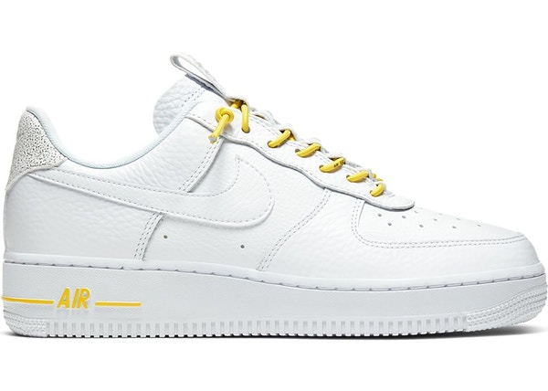Nike Air Force 1 Low Lux White Chrome Yellow W 898889 104
