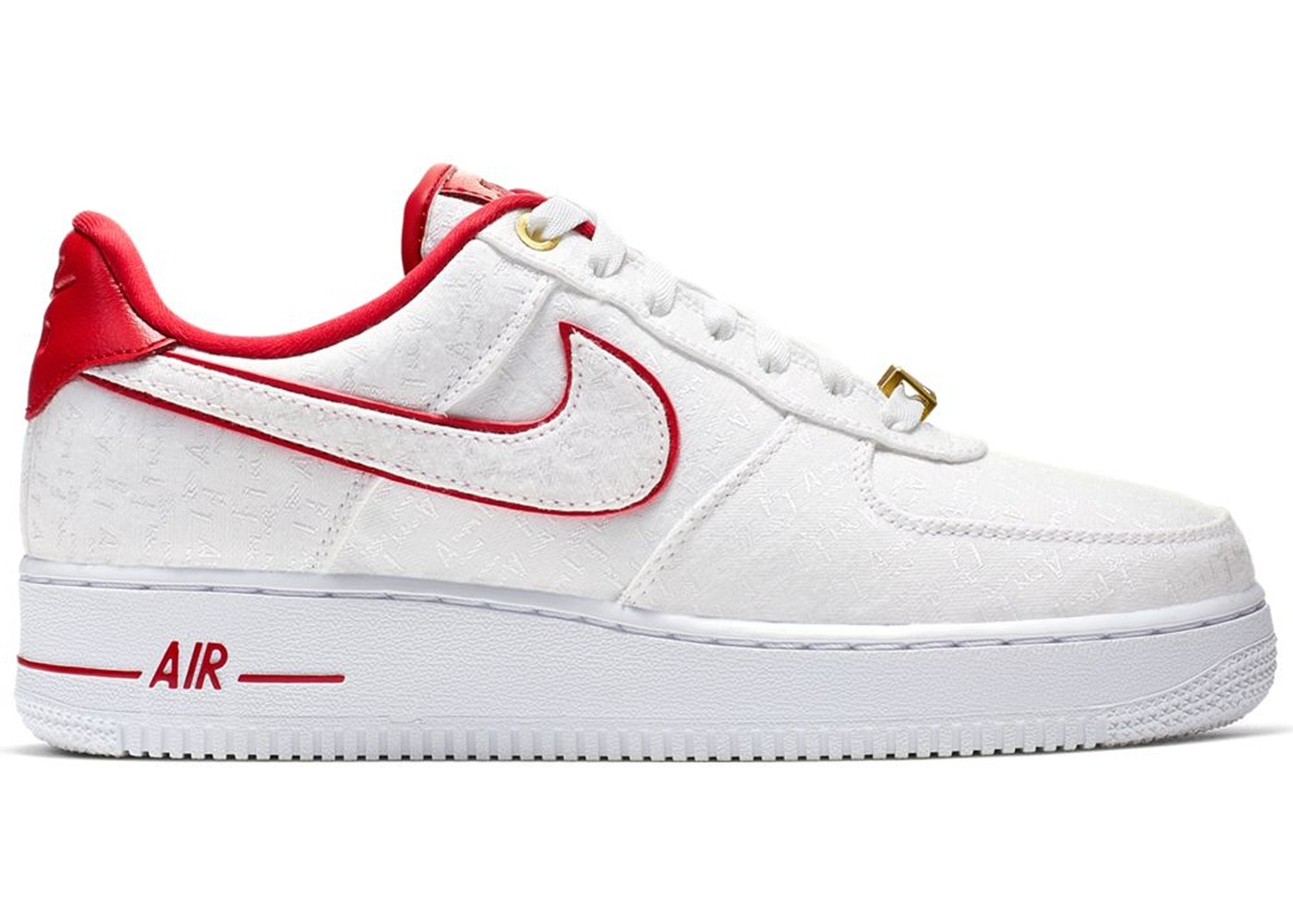 Nike Air Force 1 Low Lux White Red (W)