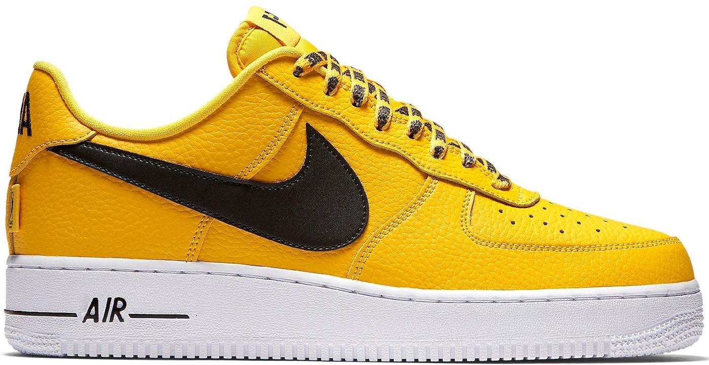 air force 1 low jaune