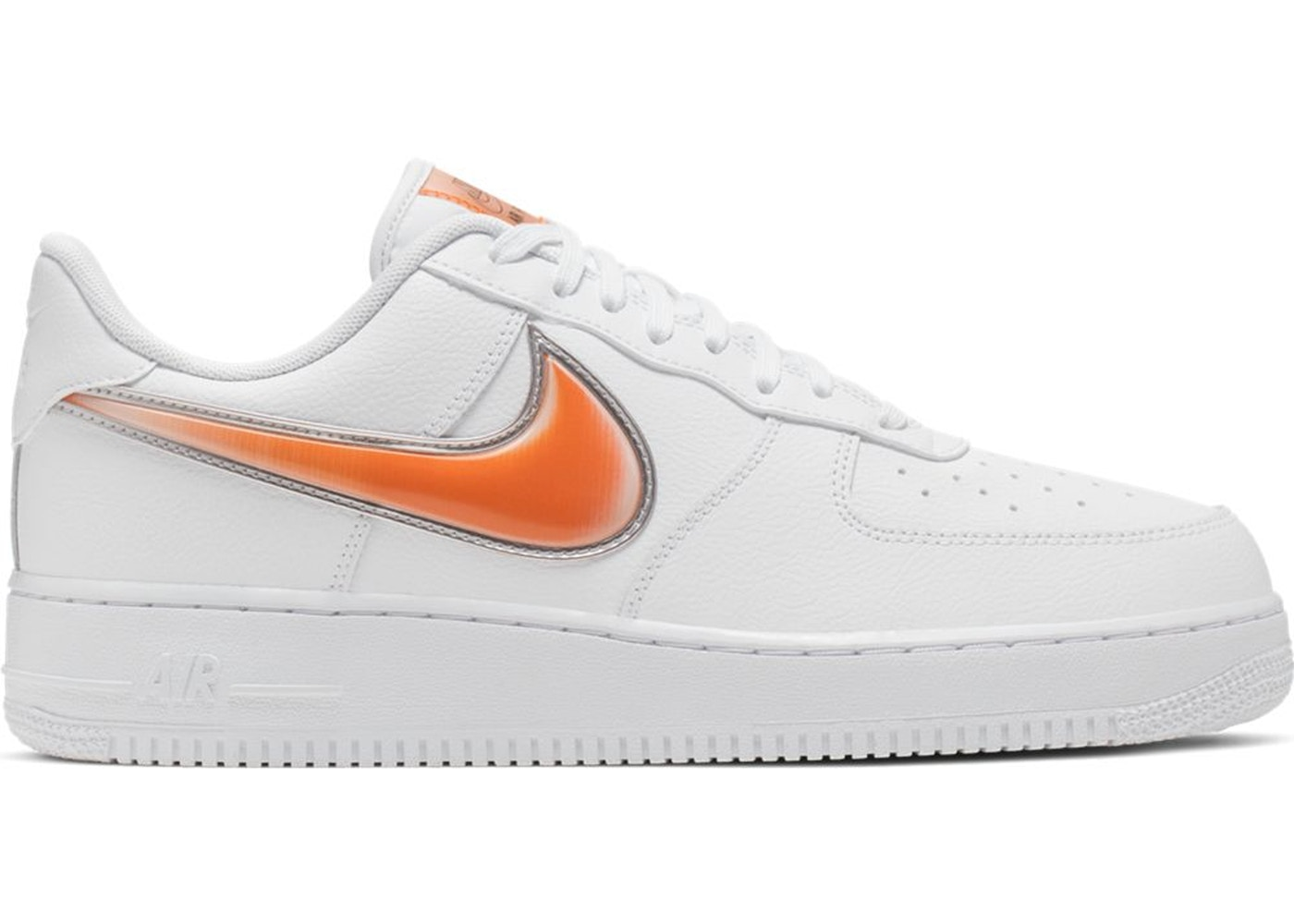 air force 1 swoosh rosso