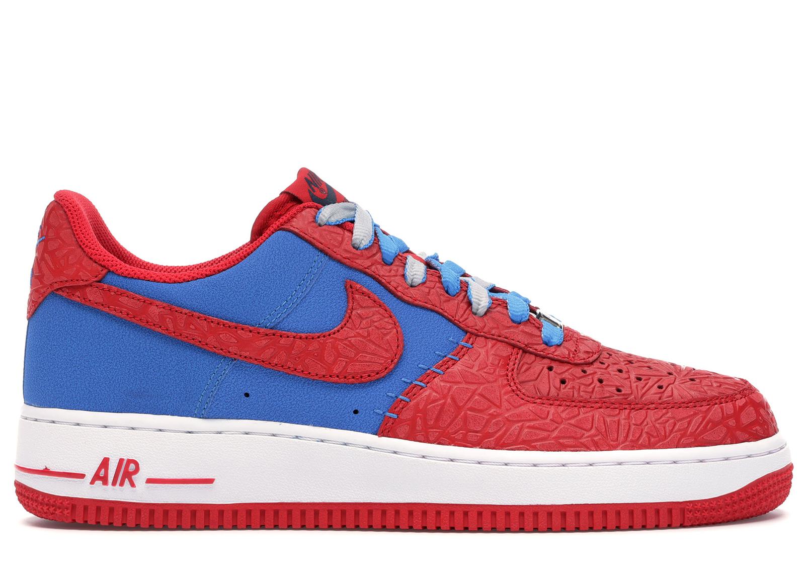 air force 1 blu e rosse