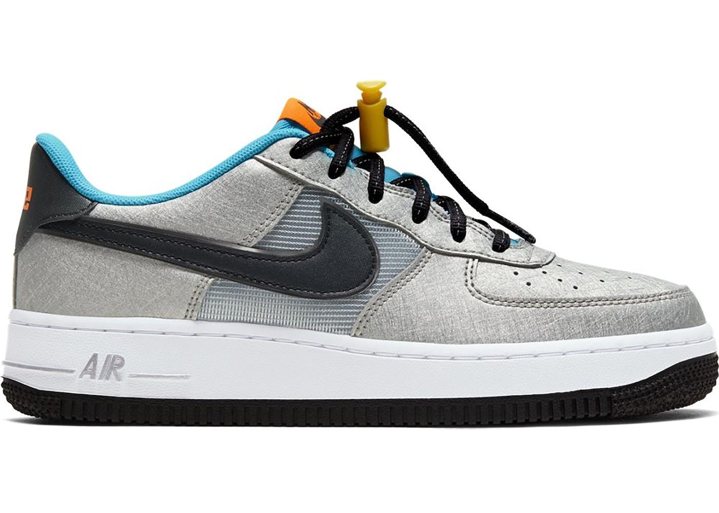 Nike Air Force 1 Low Sky Nike Pack (GS) - CW6011-001