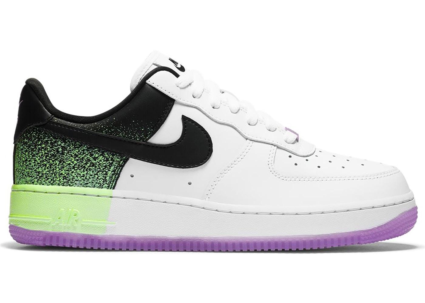 Nike Air Force 1 Low Splatter Barely Volt Fuchsia Glow (W ...