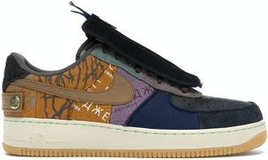 Nike Air Force 1 Low Travis Scott Cactus Jack by Skims, available on stockx.com for $473 Kylie Jenner Shoes SIMILAR PRODUCT