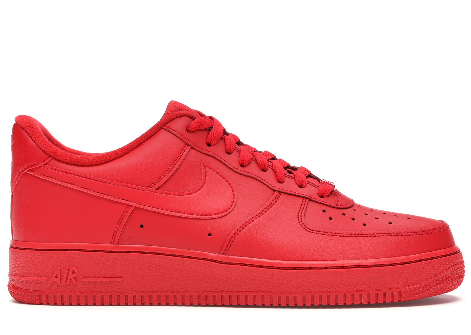 air force 1 rosso