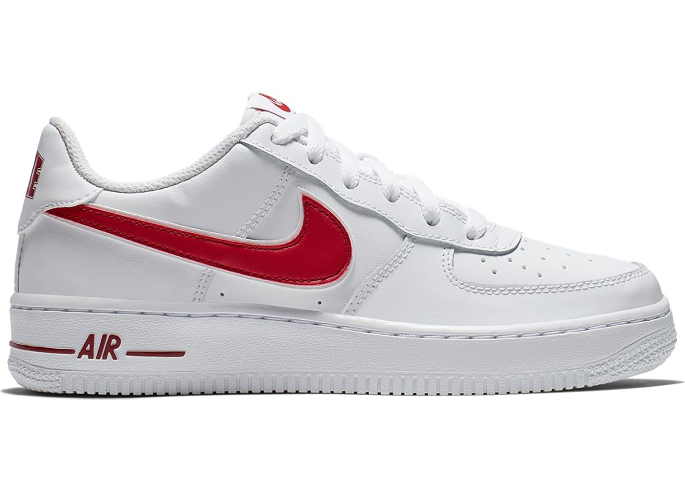 air force 1 red and white
