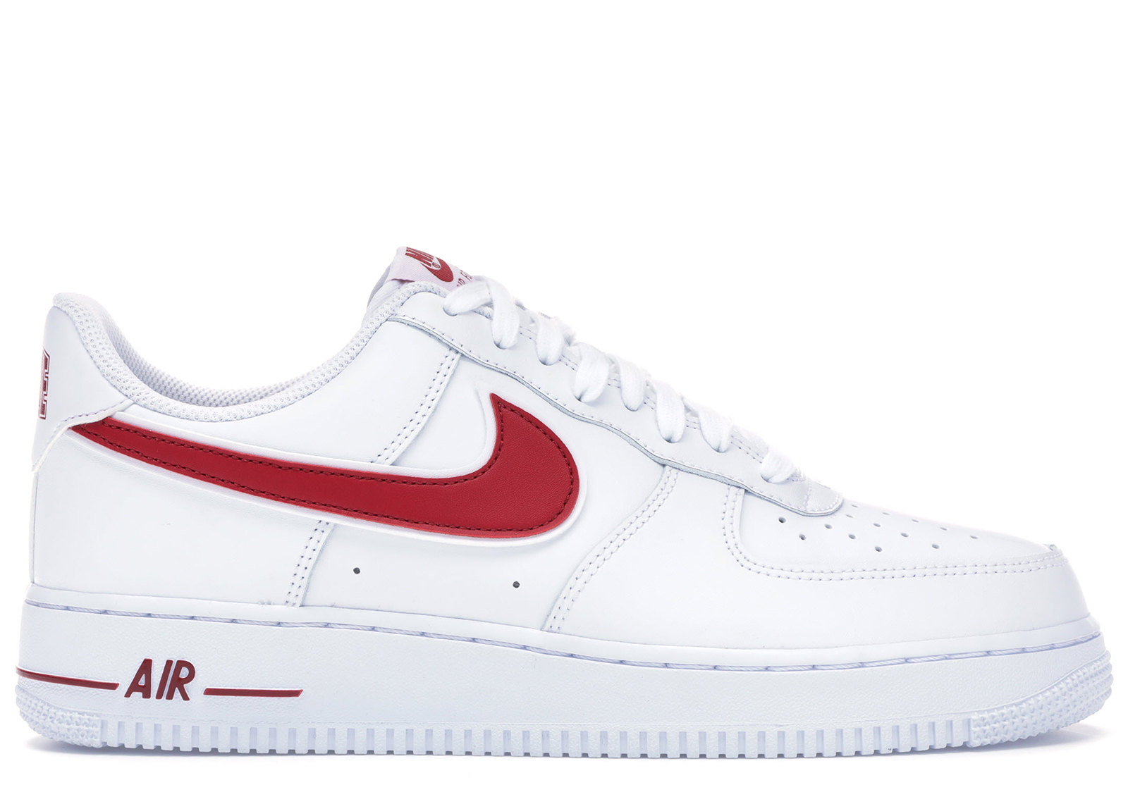 Nike Air Force 1 Low White Gym Red - AO2423-102