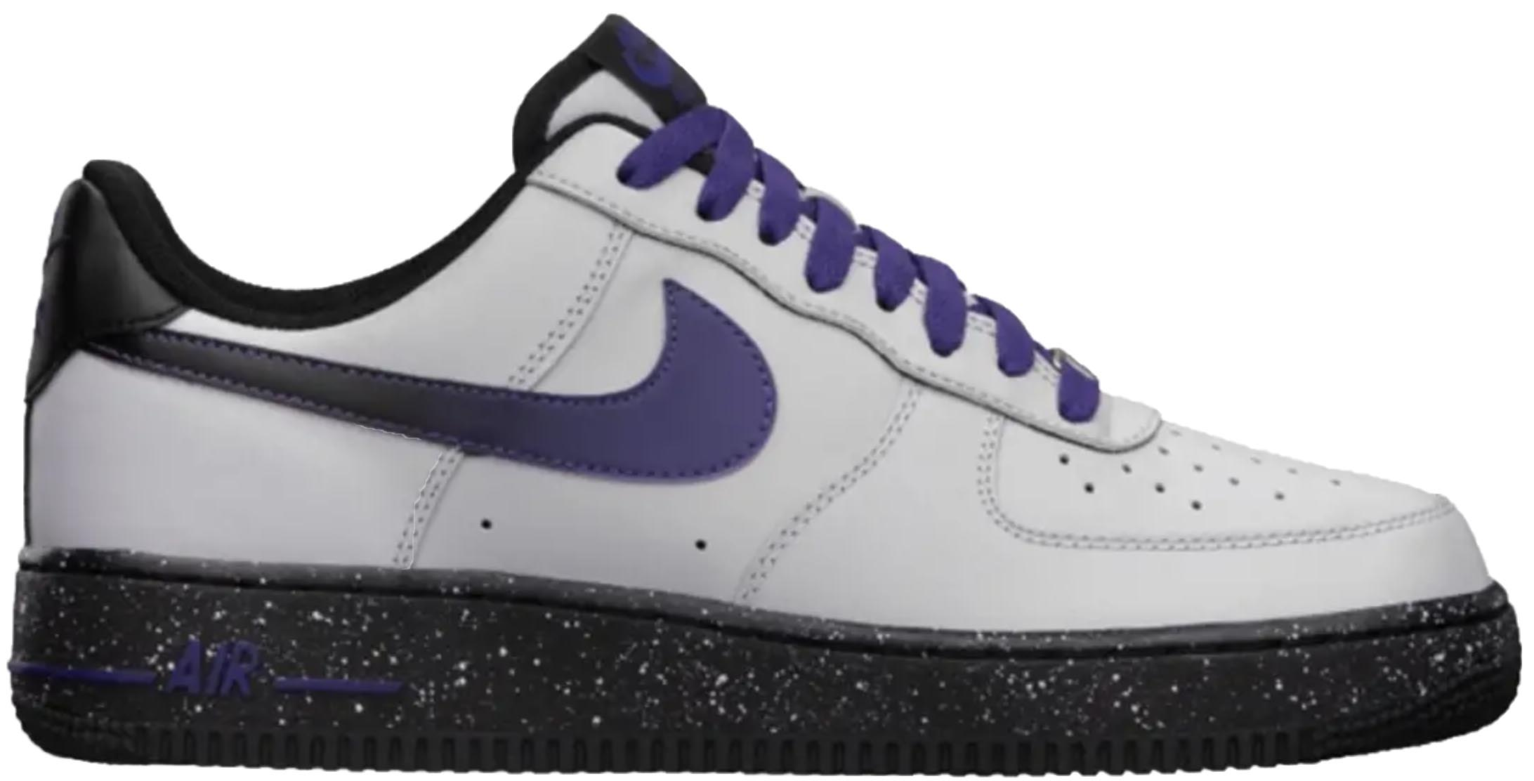 Nike Air Force 1 Low Wolf Grey Court Purple - 488298-060