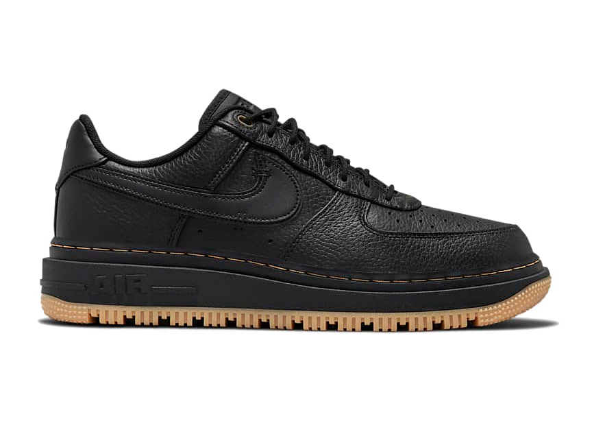 Nike Air Force 1 Low Luxe Black Gum