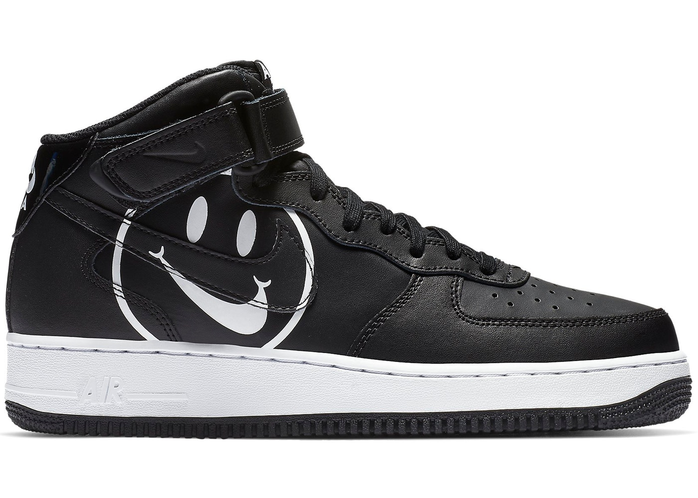 Renacimiento Anfibio Luna  Nike Air Force 1 Mid Have a Nike Day Black - AO2444-001