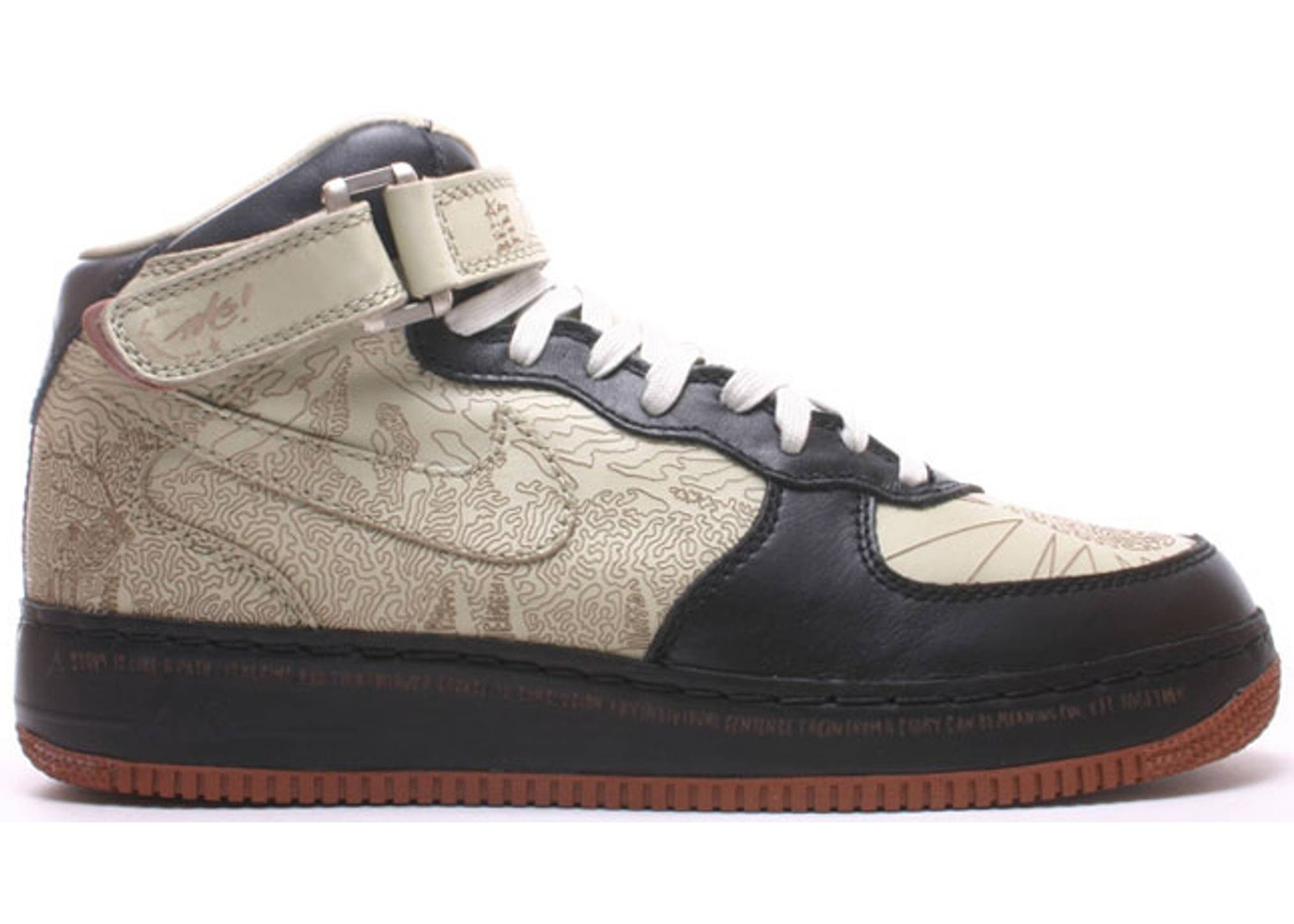 Nike Air Force 1 Mid Insideout Laser - 309379-011