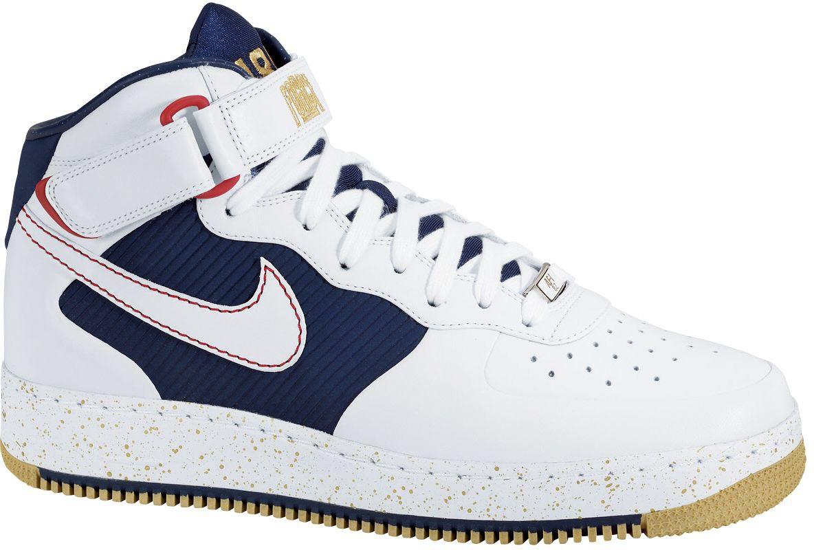 Nike Air Force 1 Mid Supreme Charles Barkley - 317332-111