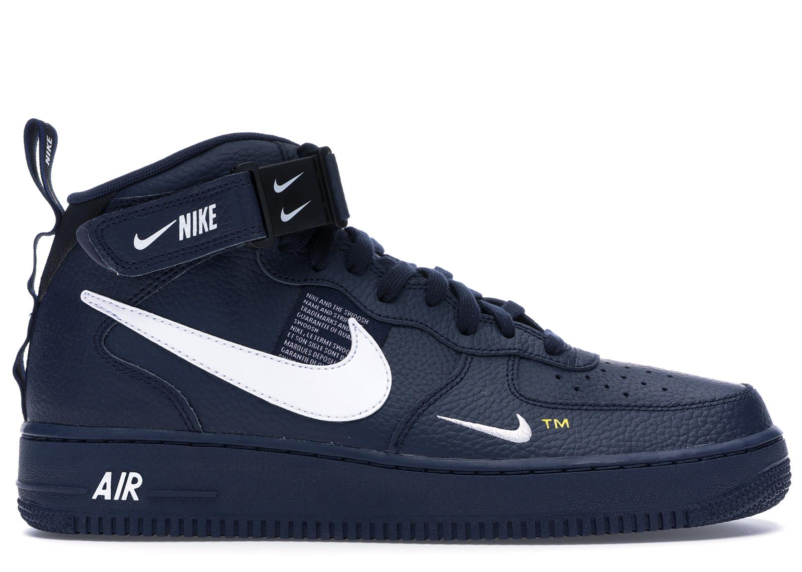 Nike Air Force 1 Mid Utility Obsidian - 804609-403