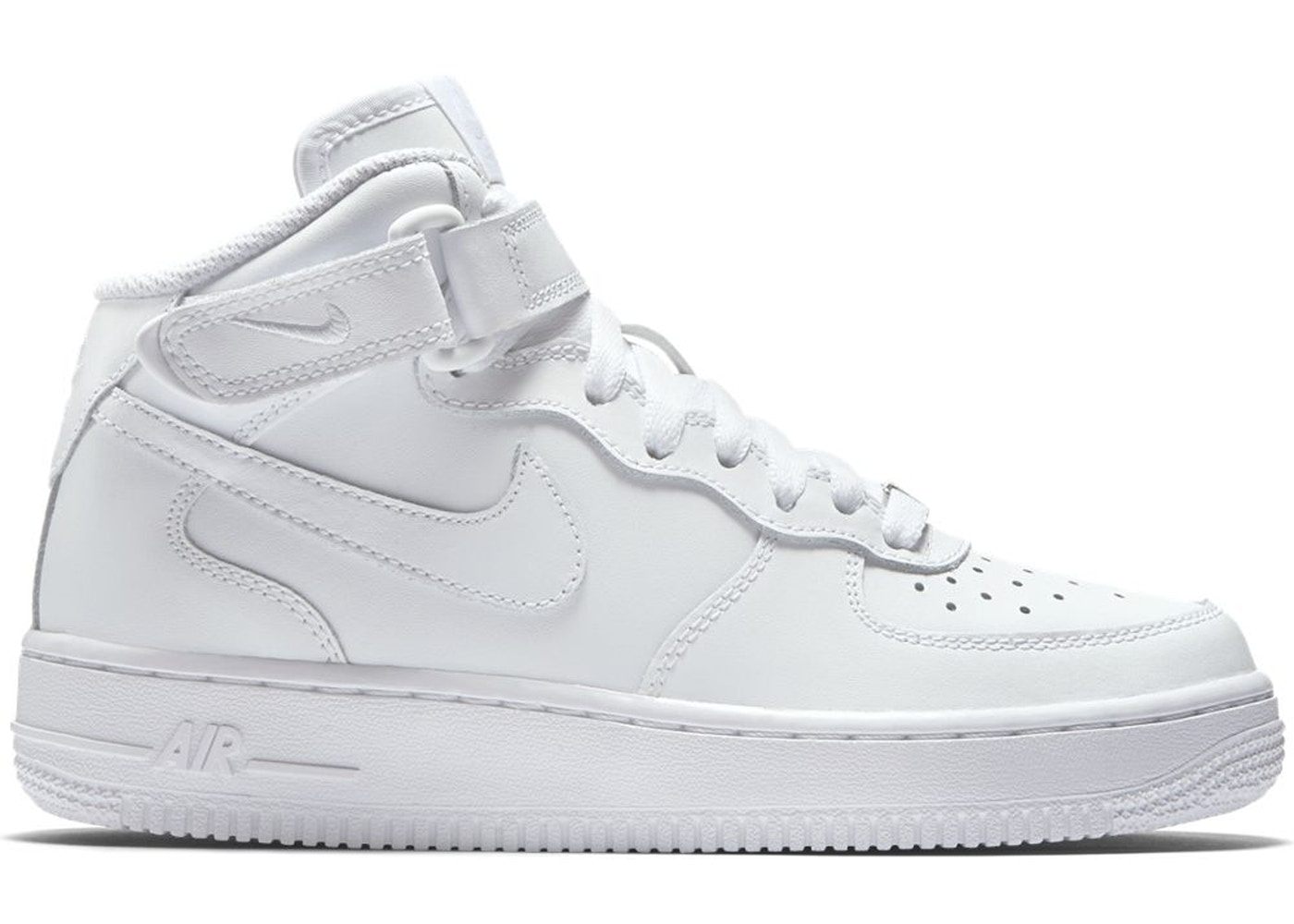 Nike Air Force 1 Mid White 2014 (GS)