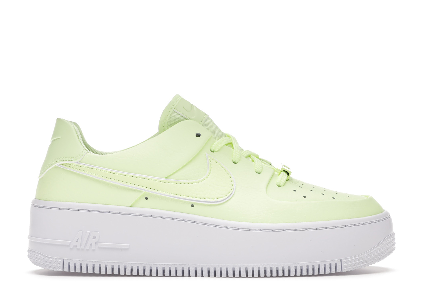 Nike Air Force 1 Sage Low Barely Volt (W) - CJ1642-700