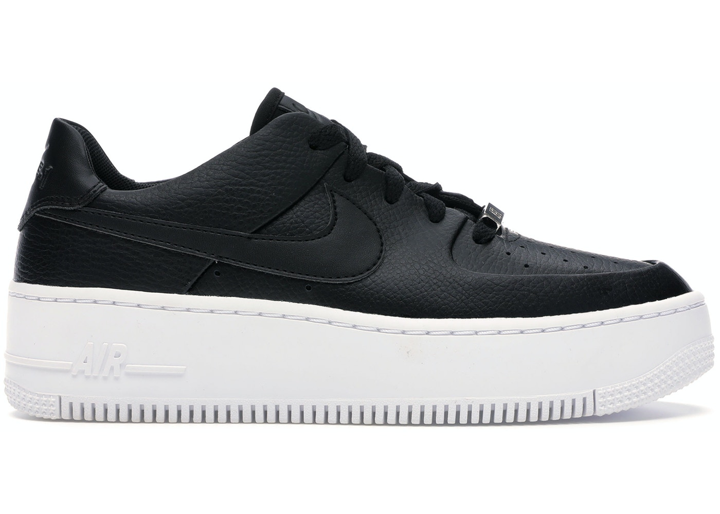 Nike Air Force 1 Sage Low Black White W Ar5339 002