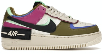 Nike Air Force 1 Shadow Cactus Flower Olive Flak (W) by Skims, available on stockx.com for $107 Kylie Jenner Shoes SIMILAR PRODUCT