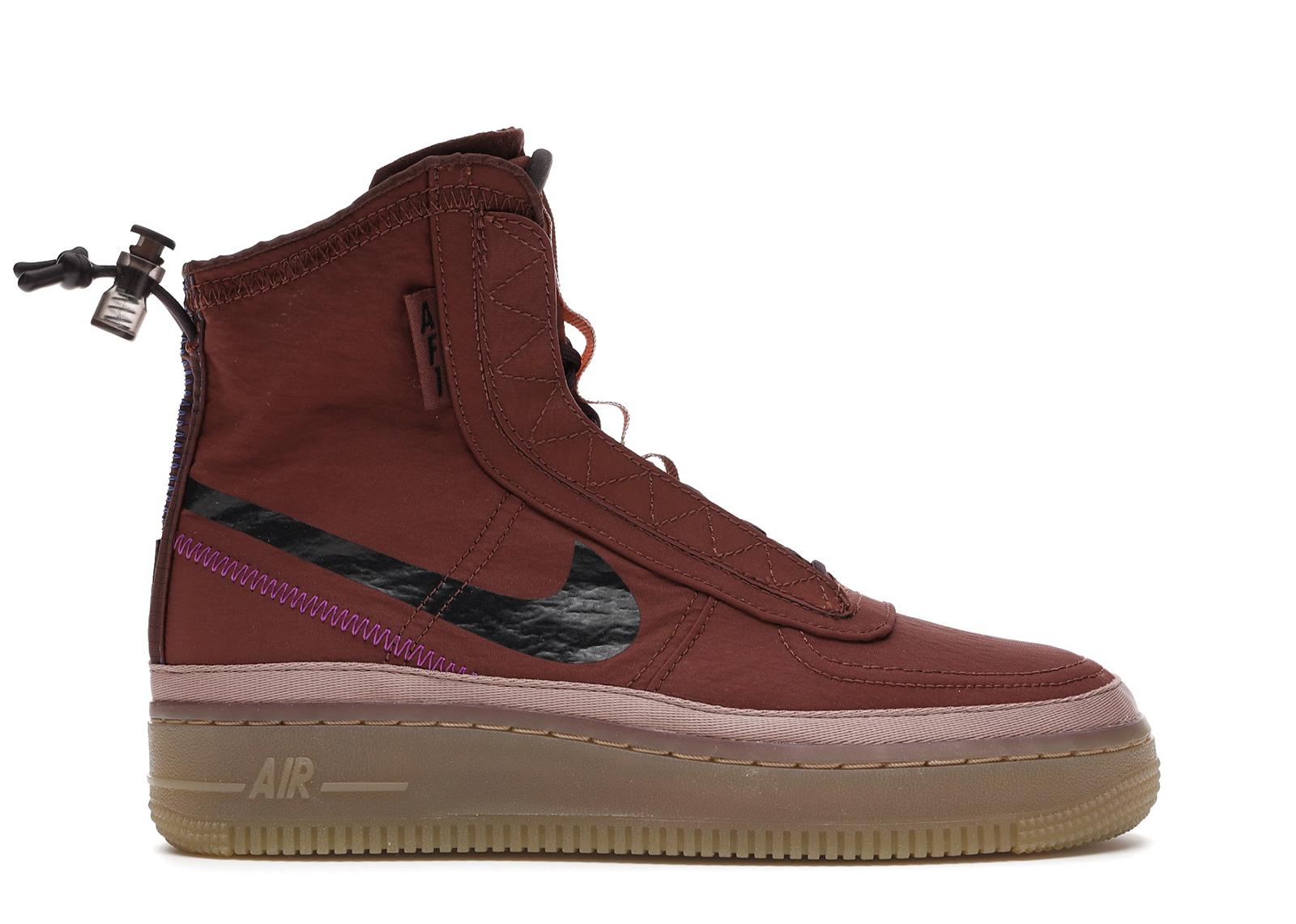 Nike Air Force 1 Shell Burgundy Ash (W)