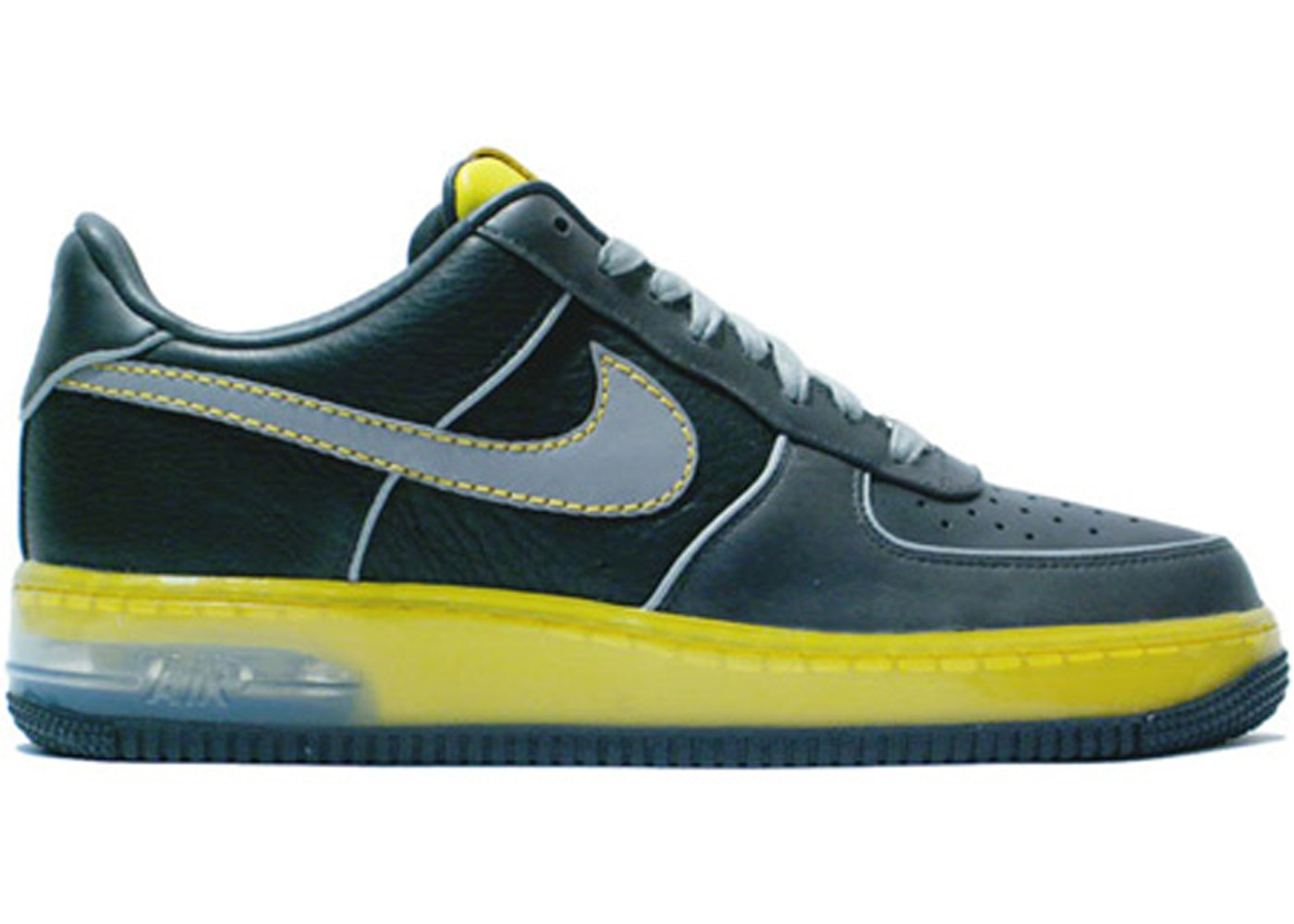 Nike Air Force 1 Supreme Max Air Anthracite Zest