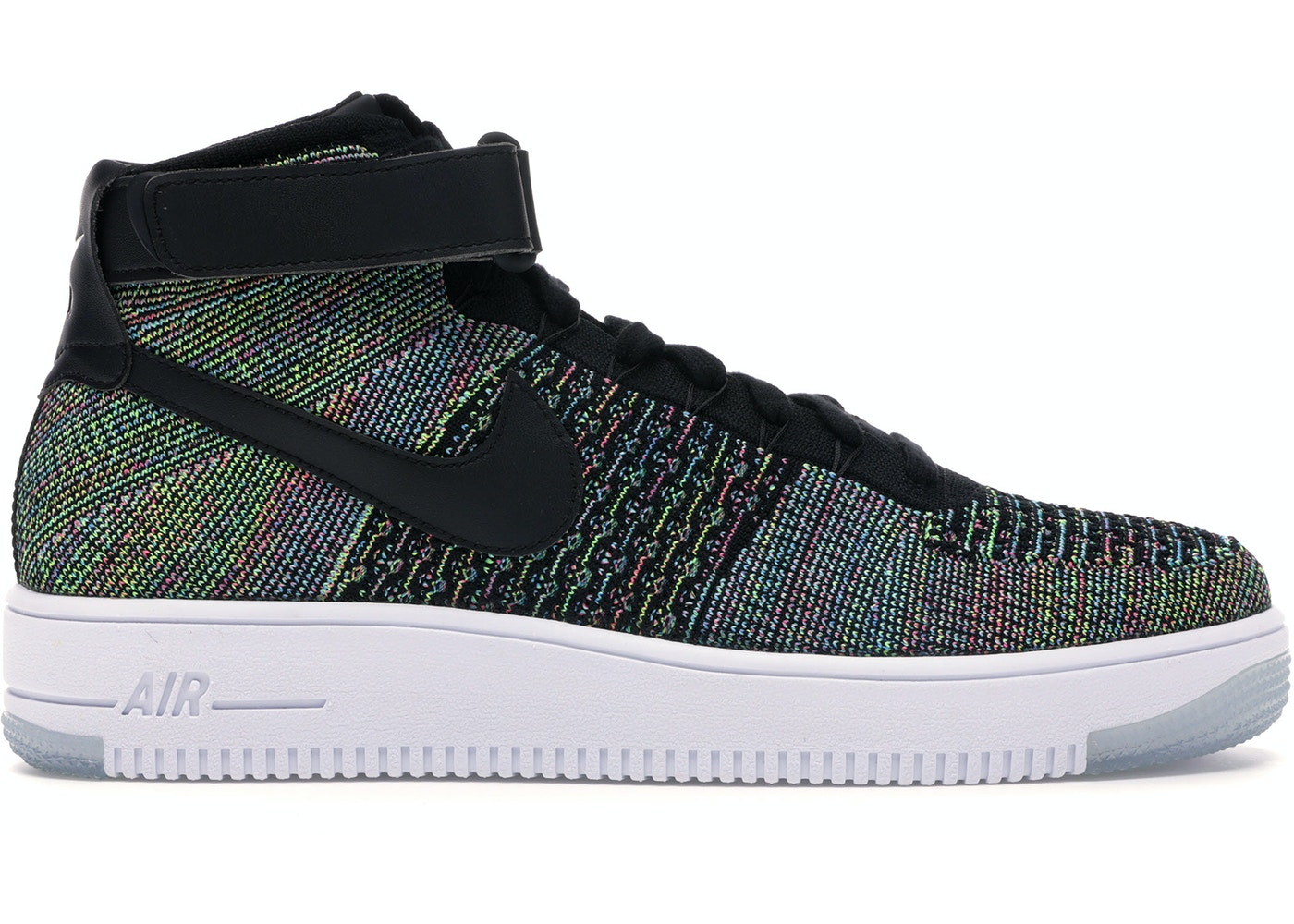 Joven neumático Turismo  Nike Air Force 1 Ultra Flyknit Mid Multi-Color 2.0 - 817420-601