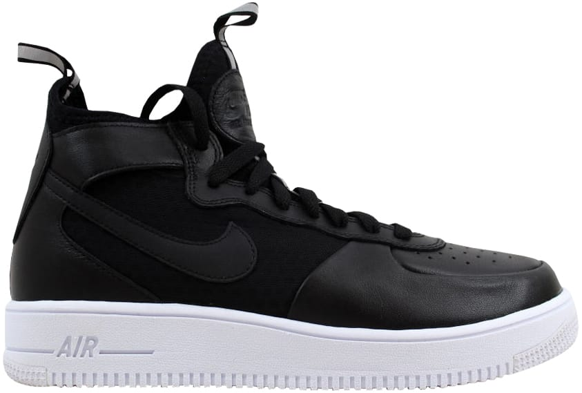Nike Air Force 1 Ultraforce Mid Black/Black-White (W)
