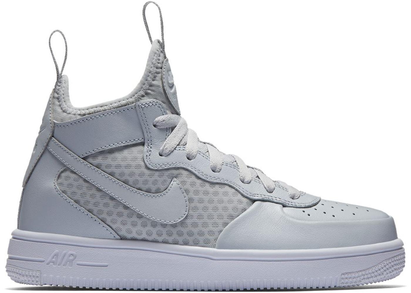 Nike Air Force 1 Ultraforce Mid Grey (GS) - 869945-002