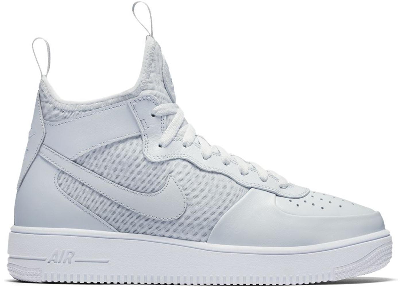 Nike Air Force 1 Ultraforce Mid Pure Platinum
