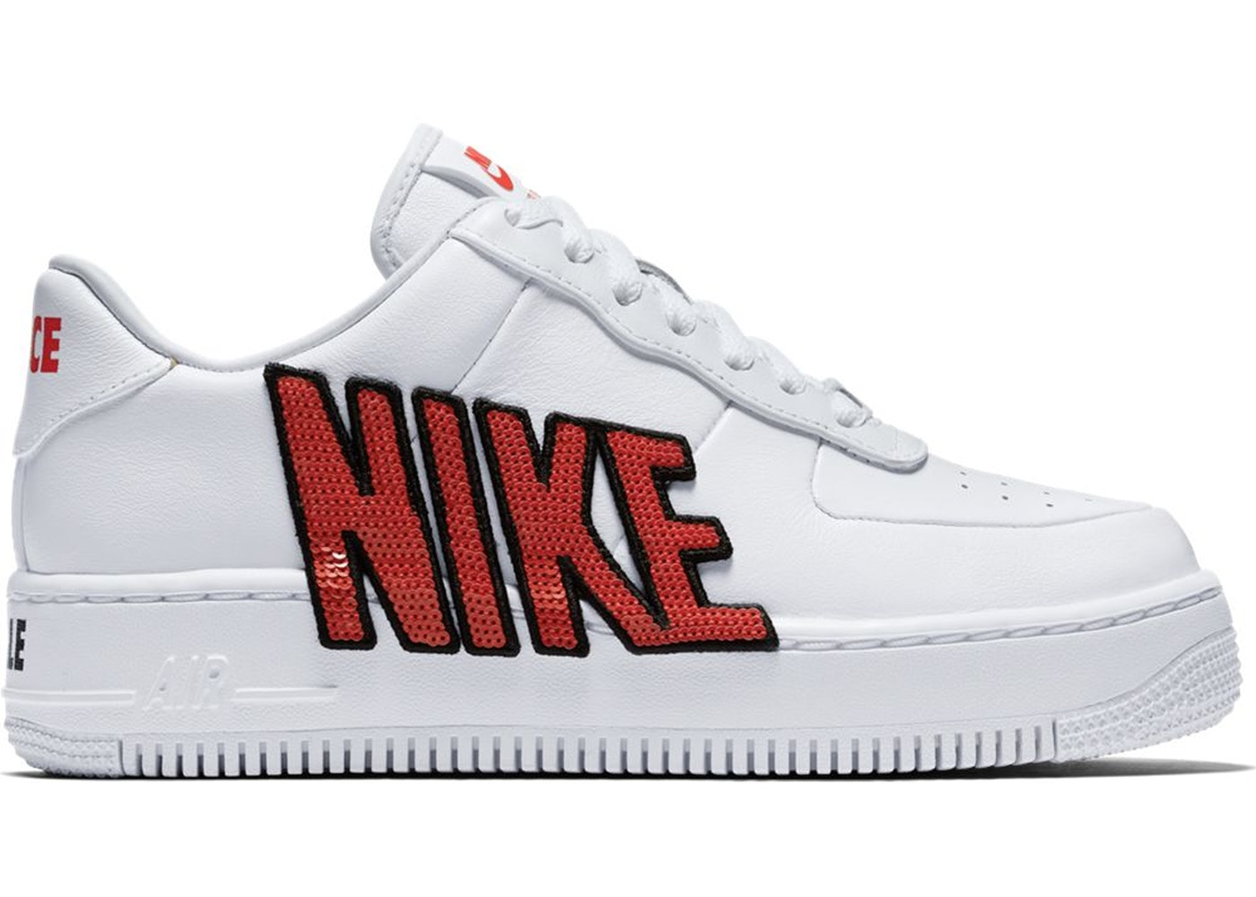Nike Air Force 1 Upstep Force Is Female White (W)