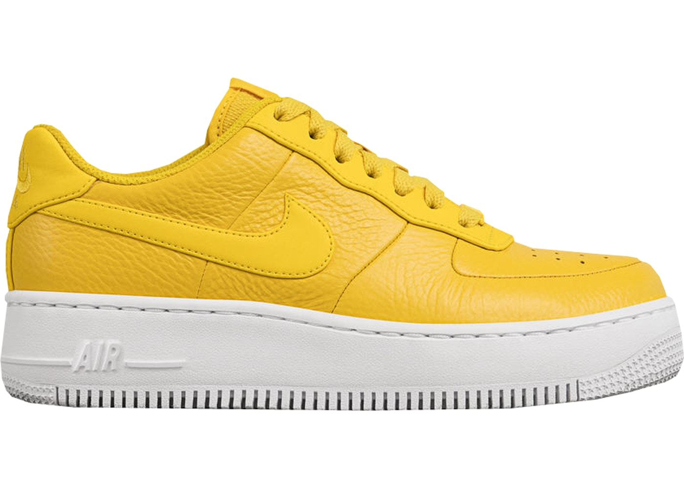Nike Air Force 1 Upstep Low Bread & Butter Yellow (W) - Sneakers