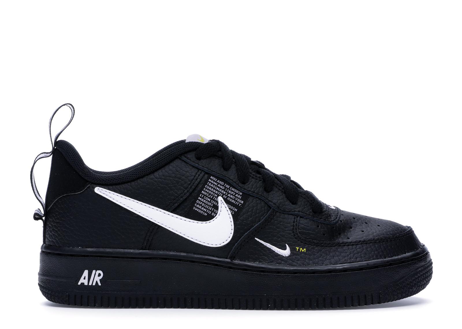 air force 1 low utility noir