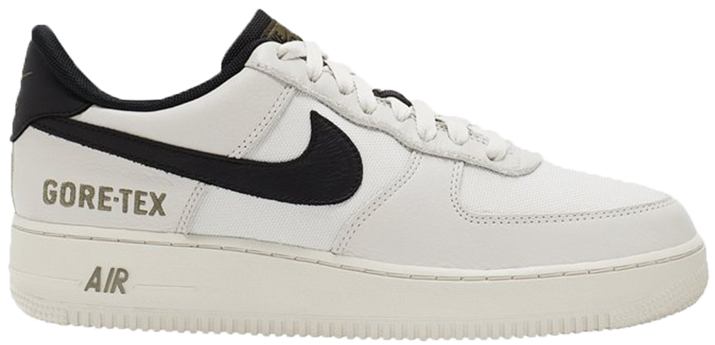 Nike Air Force One Low Gore-Tex White Sail Black - CK2630-002