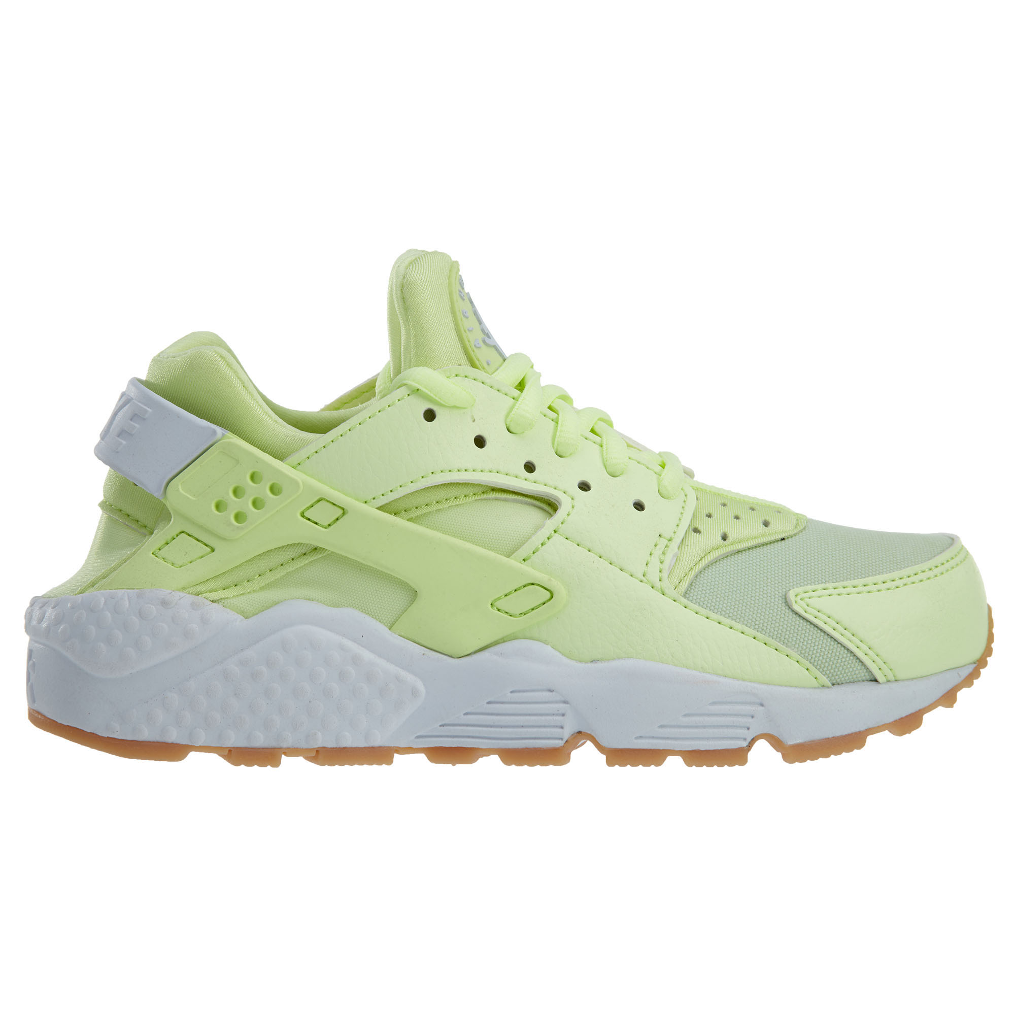 Nike Air Huarache Run Barely Volt White Gum Yellow (W)