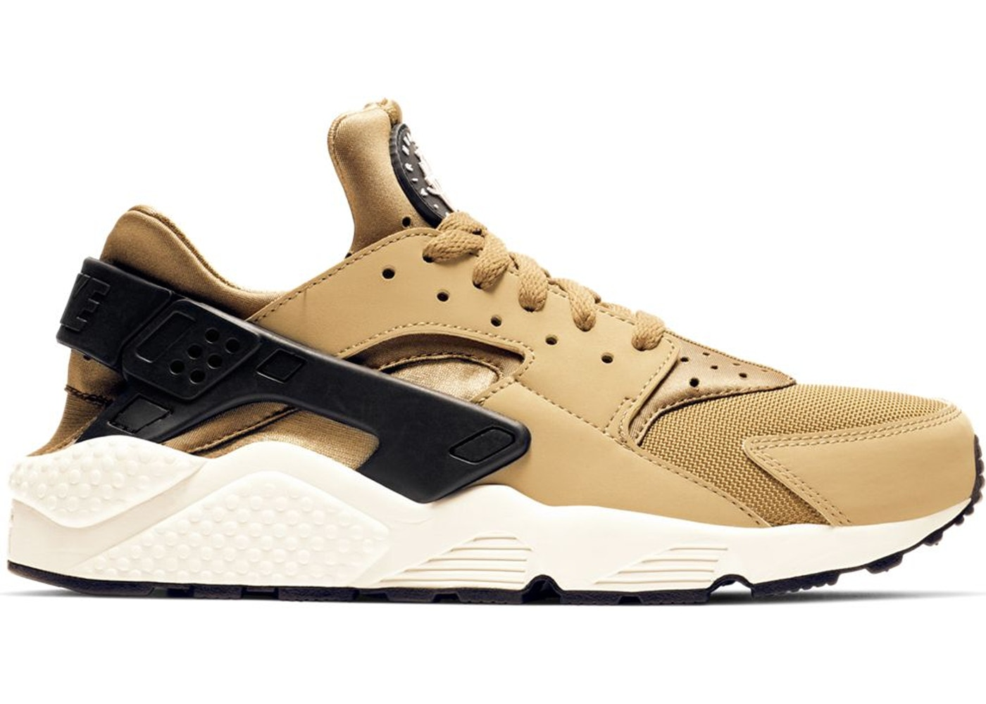 Nike Air Huarache Run Golden Beige Parachute Beige 318429 205