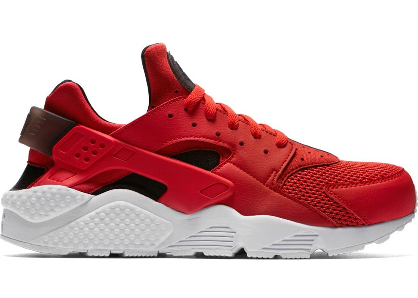 Nike Air Huarache Run Habanero Red