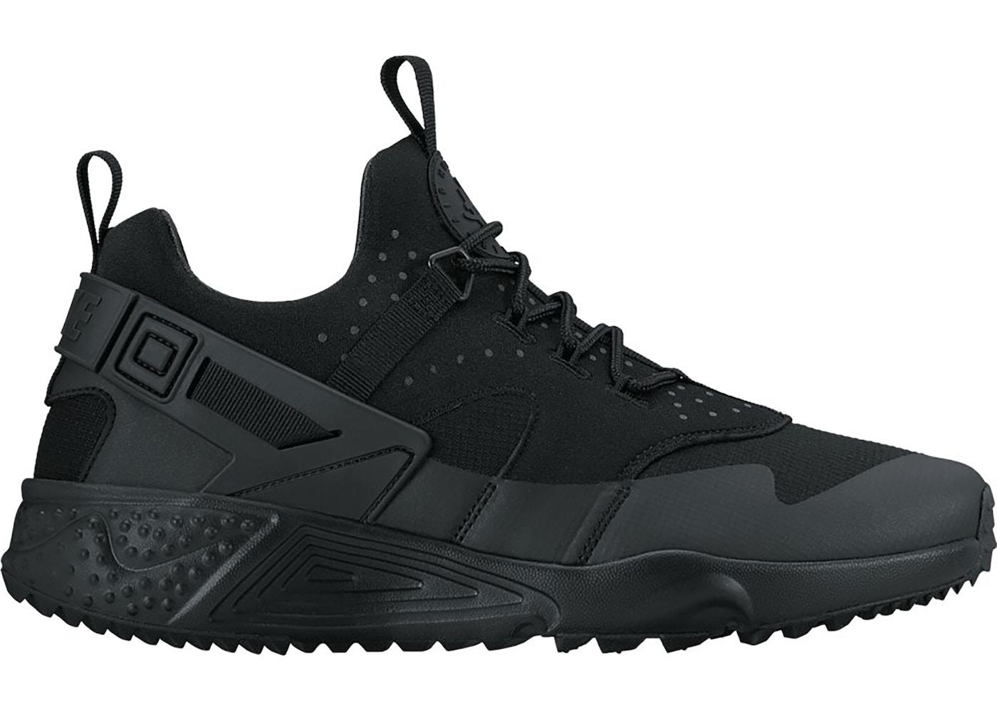 Nike Air Huarache Utility Triple Black
