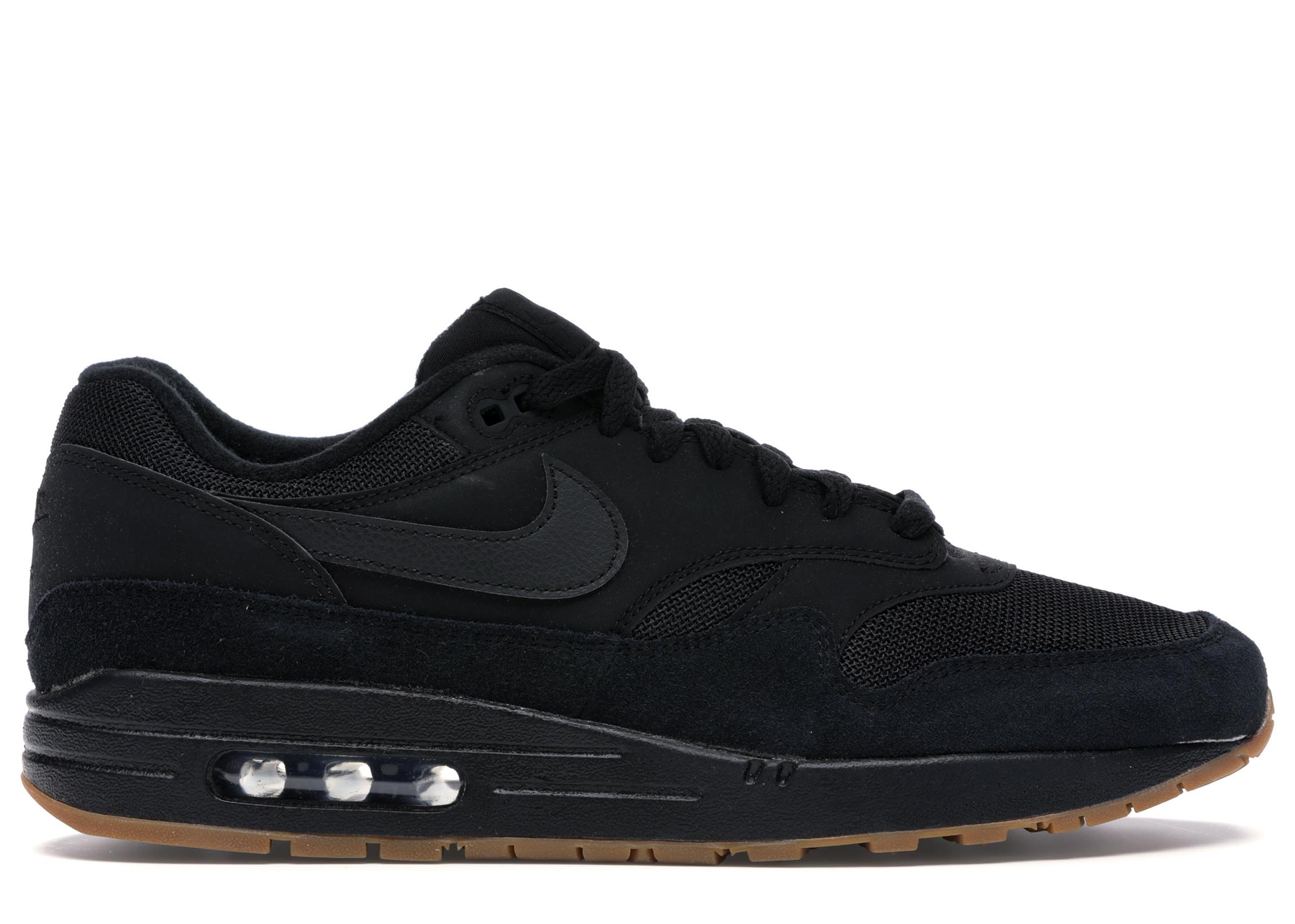 Nike Air Max 1 Black Gum - AH8145-007