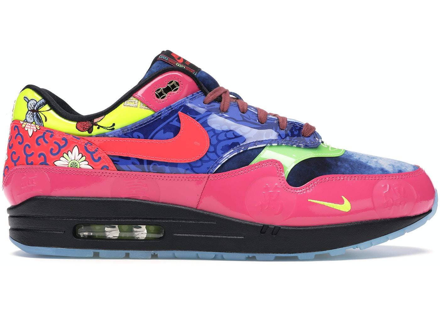 motivo Horror En marcha  Nike Air Max 1 Chinese New Year Longevity (2020) - CU8861-460