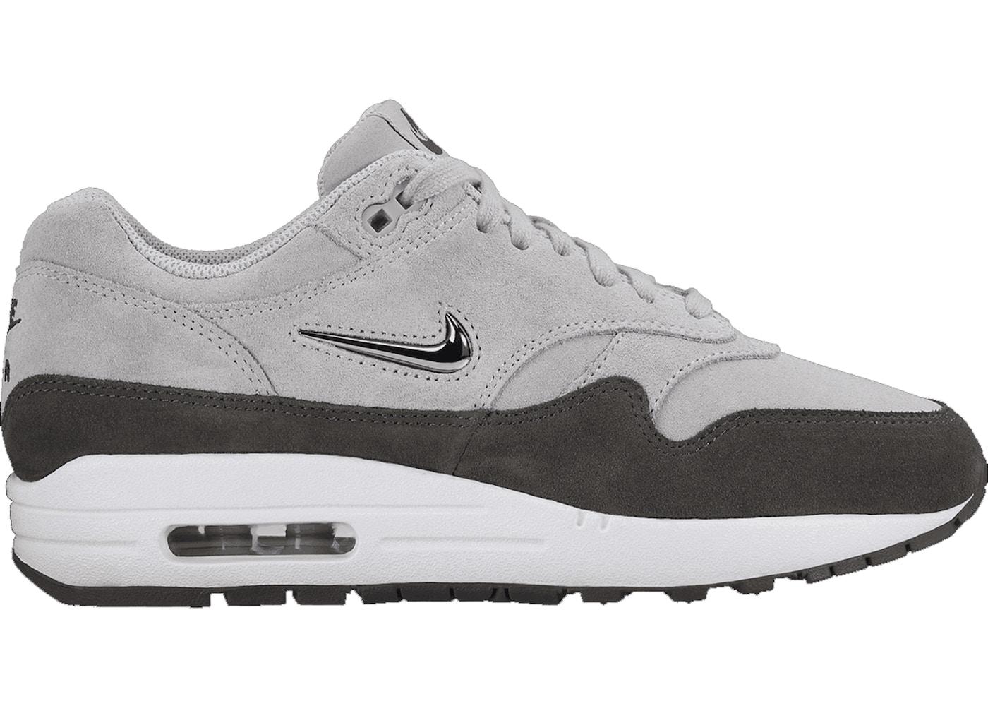 Nike Air Max 1 Jewel Wolf Grey (W)