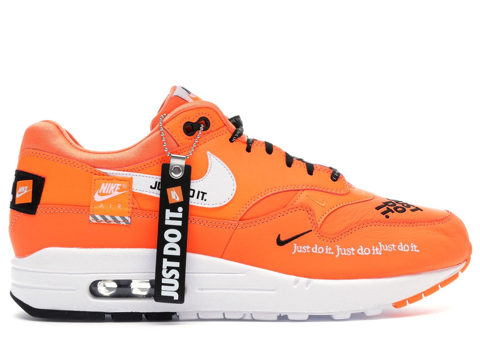 Nike Air Max 1 Just Do It Orange (W) - 917691-800