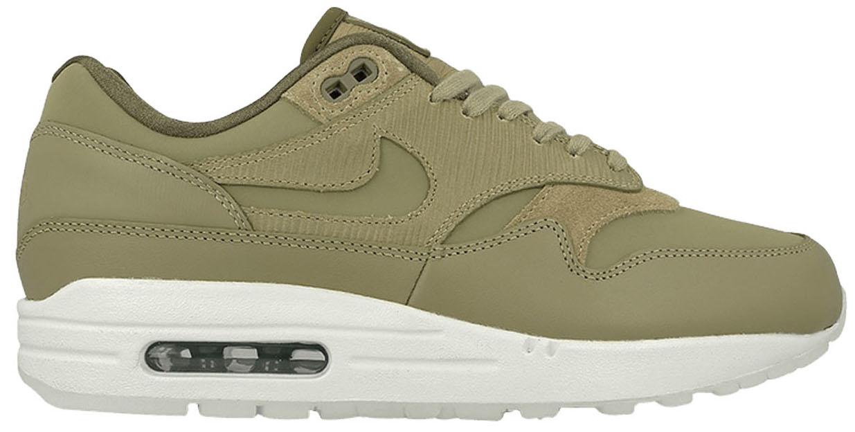 Nike Air Max 1 Premium Neutral Medium Olive (W)