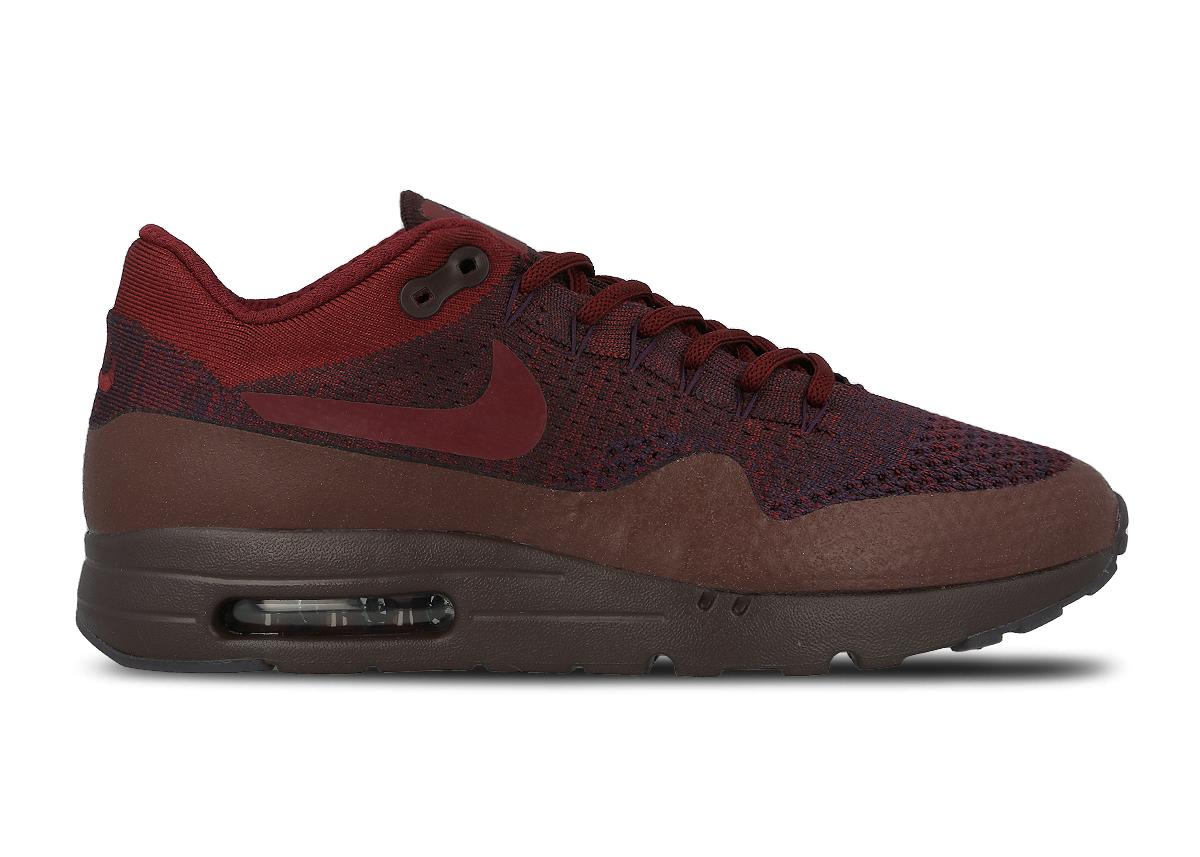 Nike Air Max 1 Ultra Flyknit Grand Purple/Team Red