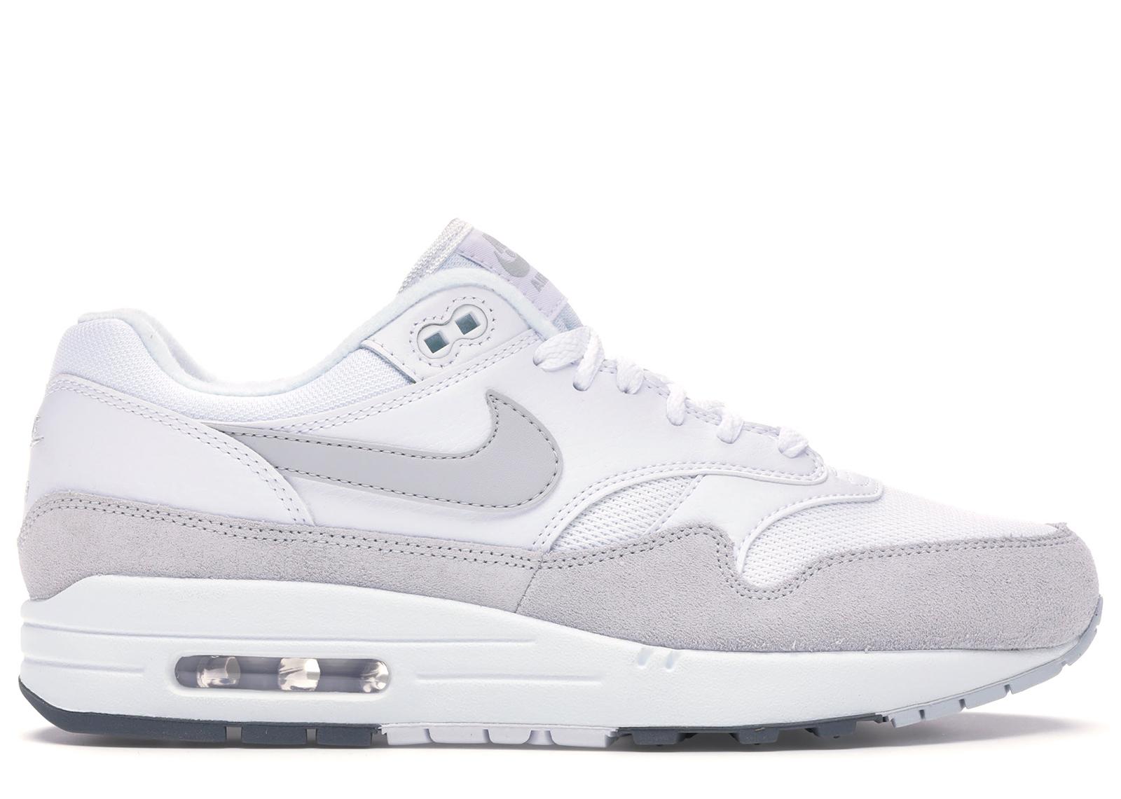 Nike Air Max 1 White Pure Platinum - AH8145-110