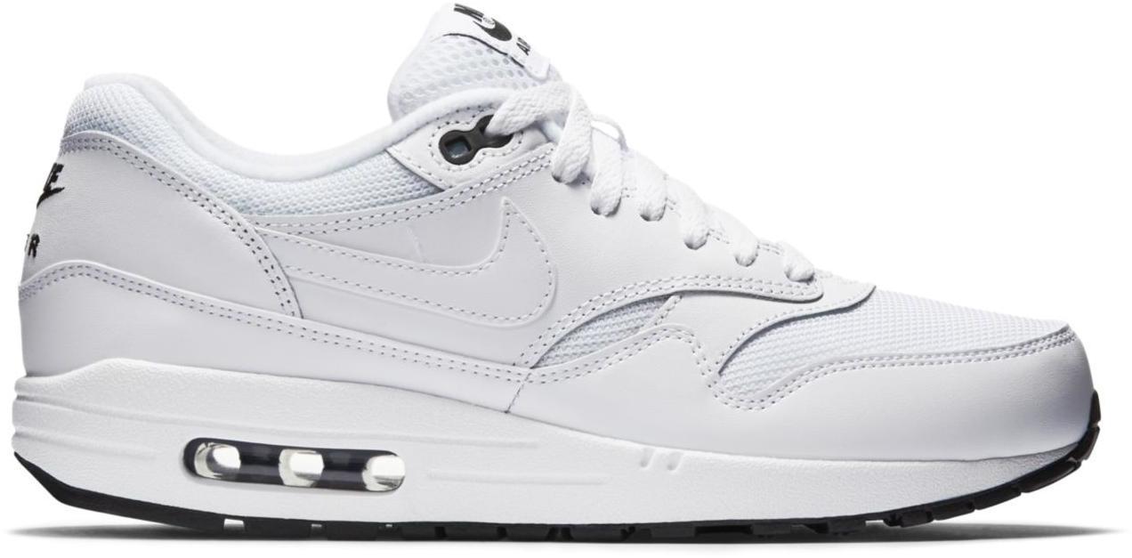 Nike Air Max 1 White White Black