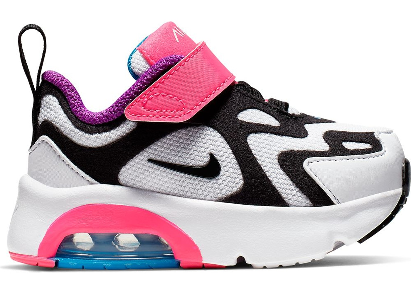 Nike Air Max 200 White Hyper Pink Black (TD)