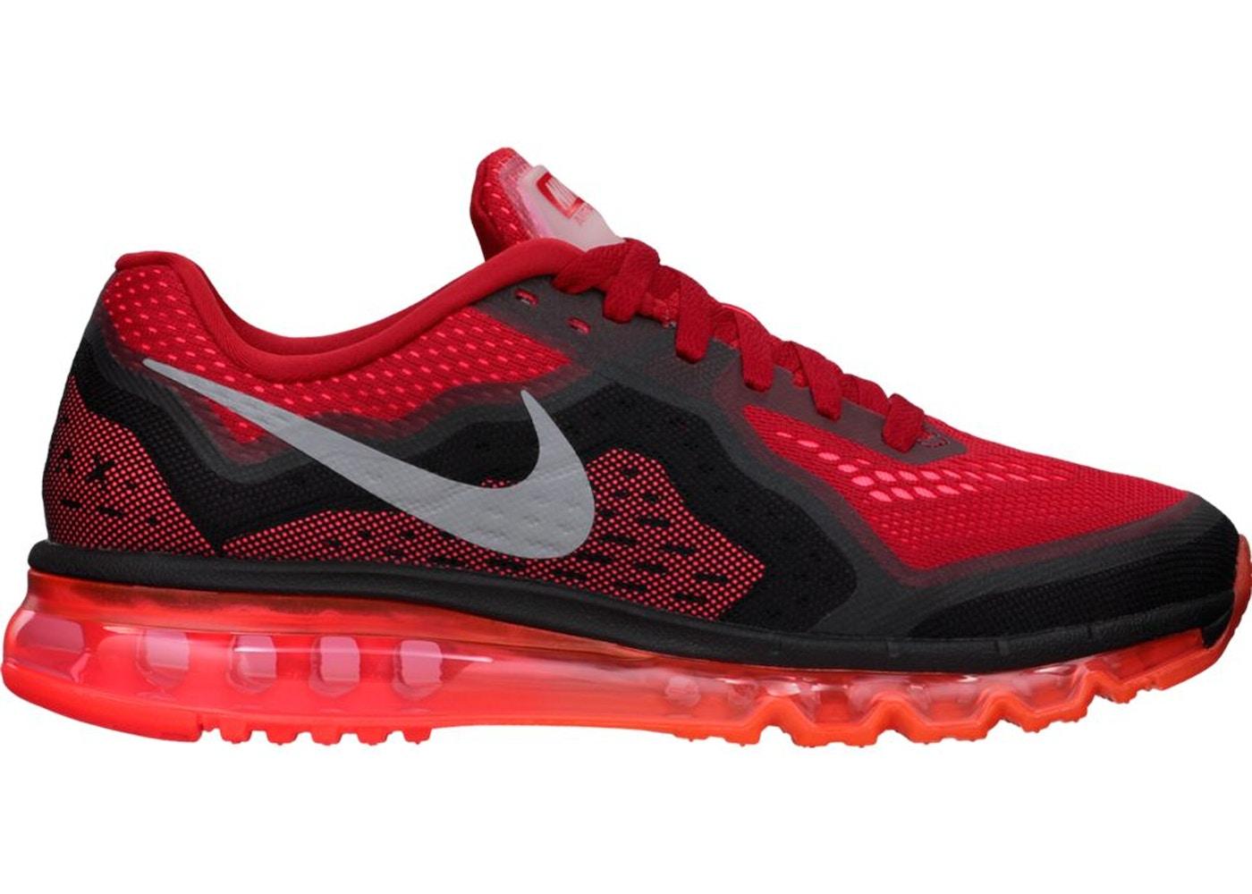 Nike Air Max 2014 Gym Red Black - 621077-601